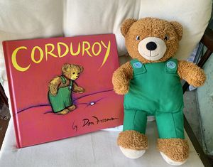 Corduroy book & stuffed animal set for Sale in Norwalk, CA