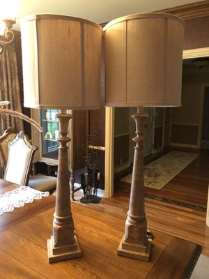 Pair of lamps for Sale in Battle Creek, MI