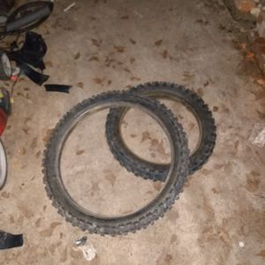 Dirt Bike Tires Front And Rear for Sale in Gaston, SC
