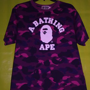 Bape Purple Camo T-Shirt Size Medium for Sale in Williamsville, NY