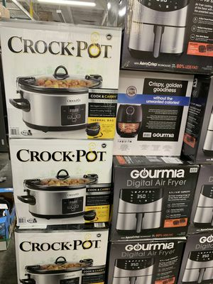 Large Capacity Slower Cooker CrockPot for Sale in Ontario, CA