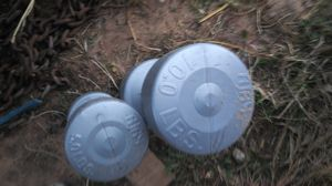 Barbell wieghts 10lbs and 5lbs for Sale in Lubbock, TX