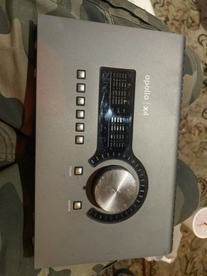 Apollo x4 Thunderbolt Audio Interface for Sale in Culver City, CA