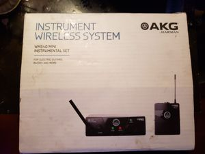 HARMAN / AKG wireless system for electric, guitars & bass guitars for Sale in San Diego, CA
