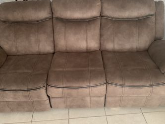 Two Recliners Both With Charger Ports An Storage for Sale in Fort Lauderdale,  FL