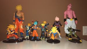 Dragon Ball Z 3D Action Figures for Sale in Clifton, NJ