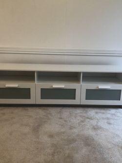 White TV Stand for Sale in Bellevue,  WA