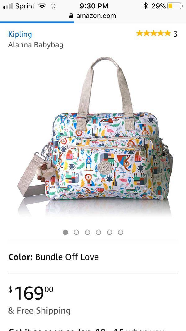 New, Kipling Diaper Bag [out of stock]