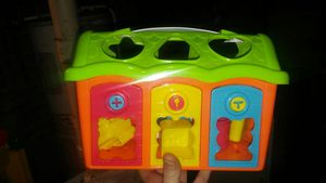 Shape sorter toy for Sale in Waterbury, CT