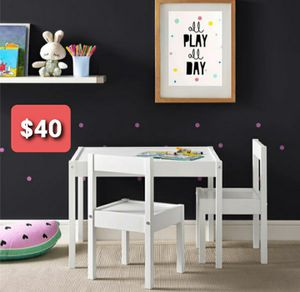 Kid table and chairs for Sale in Dallas, TX