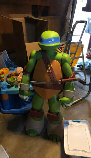 TMNT 4 feet tall toy statute for Sale in Los Angeles, CA
