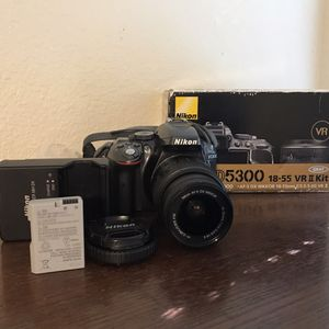 Nikon D5300 Digital SLR Camera with 24.2 Megapixels and 18-55mm Lens Included for Sale in Provo, UT