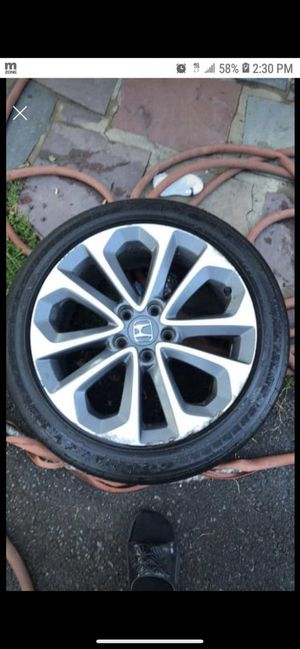 Honda rims with tires. for Sale in Cherry Hill, NJ
