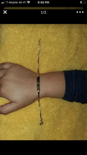 18k baby bracelet for Sale in Boynton Beach, FL