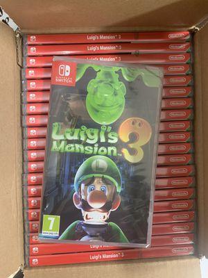 Luigi mansion 3 nintendo switch sealed for Sale in Doral, FL