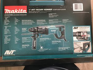 Makita Rotary Hammer Drill for Sale in Katy, TX