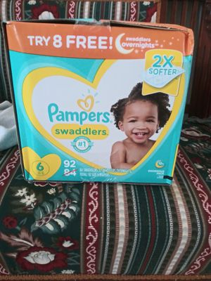 Pampers size 6 swaddlers for Sale in Tampa, FL