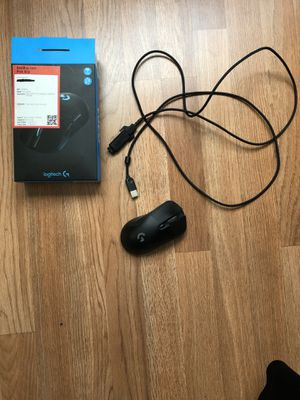 ($52 LOCAL) Logitech G403 Prodigy WIRELESS/WIRED RGB Gaming Mouse - used - WORKS GREAT for Sale in El Cajon, CA