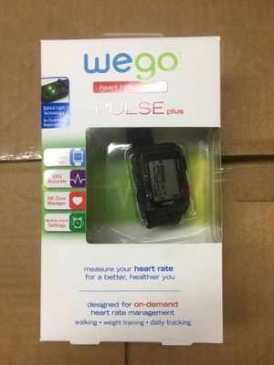 wego heart rate monitor for Sale in Tulare, CA