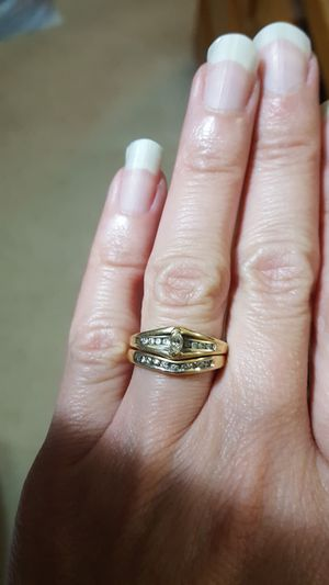 Wedding Ring Set for Sale in Plainfield, IL