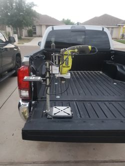 Ryobi Hammer Drill & Universal Stand for Sale in Mcallen, TX
