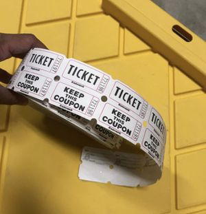 Roll of tickets for Sale in Fresno, CA