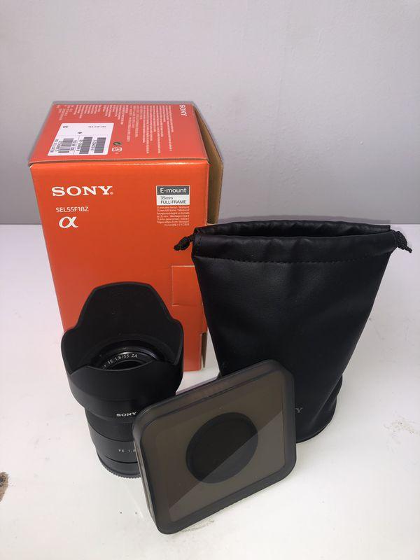 Sony Zeiss FE 55mm 1.8 Lens!