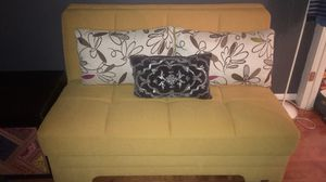 Modern futon! Great for small spaces with built in storage underneath! Price is negotiable! for Sale in Alexandria, VA