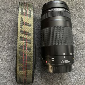 Canon EF 75-300mm Lens for Sale in Fullerton, CA