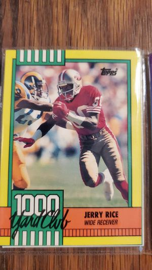 49ers Score, Tops and NFL cards for Sale in Visalia, CA