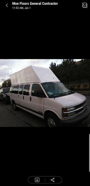 Chevy express high top camper rv conversion for Sale in West Los Angeles, CA