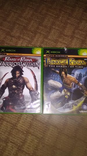 Prince of Persia the sands of time/warrior within for Sale in Apache Junction, AZ