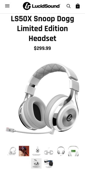 LS50X Limited Edition Snoop Dogg Headset for Sale in Corona, CA