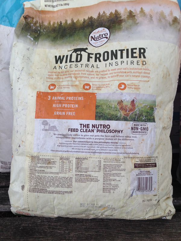 Dry cat food Nutro Frontier, Ancestral Inspired