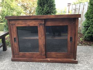 Entertainment center - console table for Sale in Seattle, WA