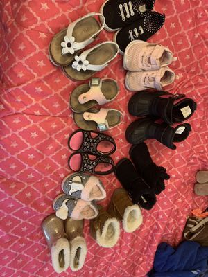 Sandals, shoes, boots for girl. Size: 6 for Sale in Pottsville, PA