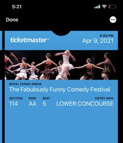 2 Mike Epps tickets for sale for Sale in Glen Burnie, MD