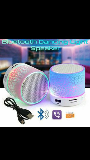 Portable Mini Bluetooth Speaker Wireless Hands Free LED Speaker With TF USB Sound Music for Sale in Accokeek, MD