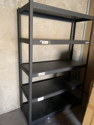 Industrial Shelving shelf Steel Warehouse Storage Rack Organizer with 5 levels tiers for Sale in Temple City, CA