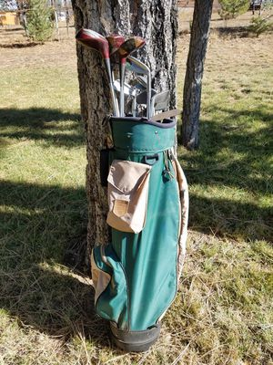 Wilson Golf Bag/Various Clubs for Sale in Overgaard, AZ