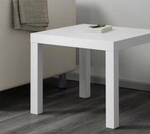 2 White side table for Sale in Philadelphia, PA