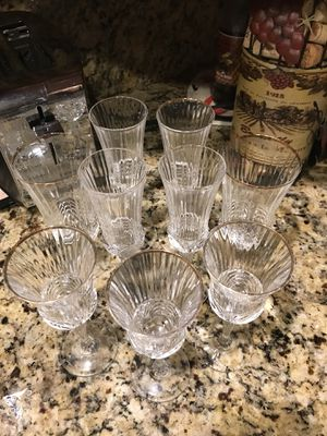 Wine glasses 2 sets for Sale in Hialeah, FL