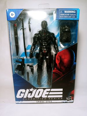 Snake Eyes G.I Joes Action Figure Hasbro Collectible for Sale in Houston, TX