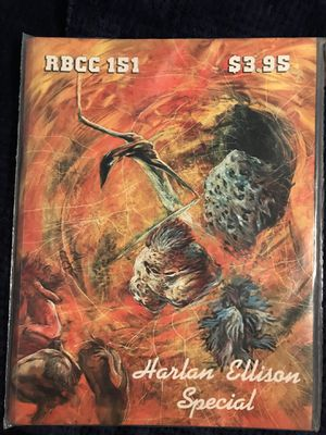 Science Fiction RBCC Harlan Ellison Special Edition Magazine for Sale in Oronogo, MO