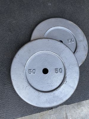 Set of 50LB standard weight for Sale in San Diego, CA