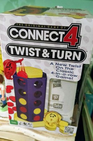 Connect 4 Twist & Turn Board Game for Sale in Austin, TX