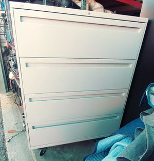 4 drawer lateral filing cabinet for Sale in Columbus, OH