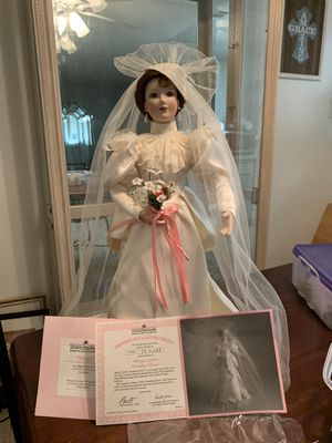 Collection of Bridal Dolls/ Great Condition!! $35 ea OBO for Sale in Hemet, CA