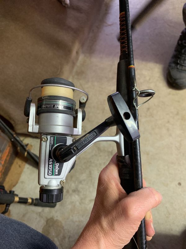 Fishing Real - Daiwa AS1050 in a Shakespeare Ugly Stick Real