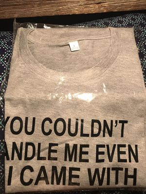 You couldn't handle me even if I came with directions tshirt for Sale in Basin, MT